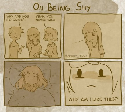 On Being Shy 4